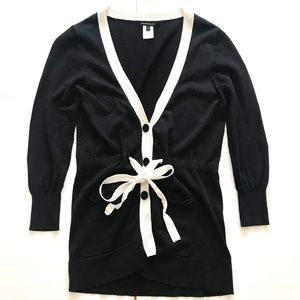 Nanette Lepore Black & White Cardigan